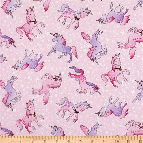 unicorn pattern fabric timeless treasures unicorns pink discount designer