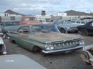 Auto Parts Chevrolet 1959 Chevrolet Biscayne 59ch8777c Desert Valley Auto