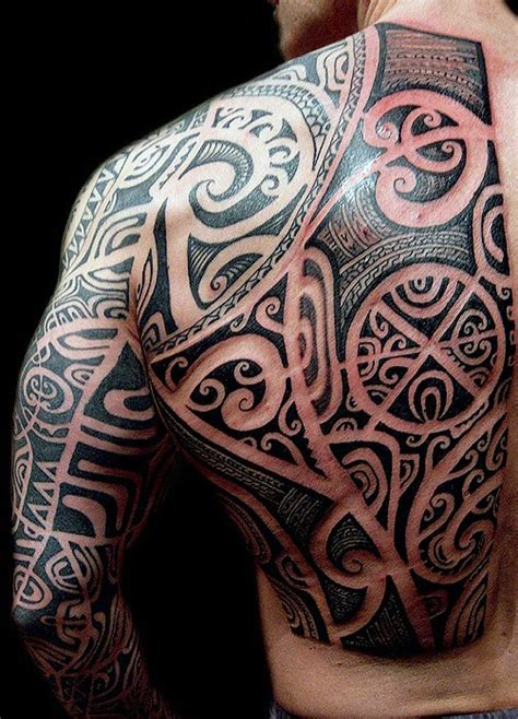 tribal back tattoos for men 60 tribal back tattoos for bold masculine designs