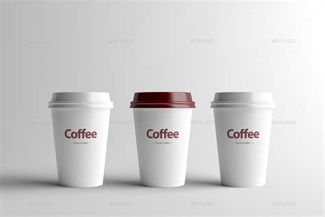 Plastik Paper Cup Es paper coffee cup packaging mock up small by zeisla