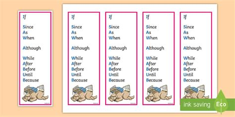 subordinating conjunctions what is a subordinating