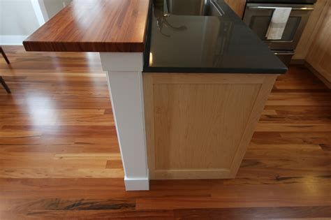 building a bar top counter details of home kitchen bar top