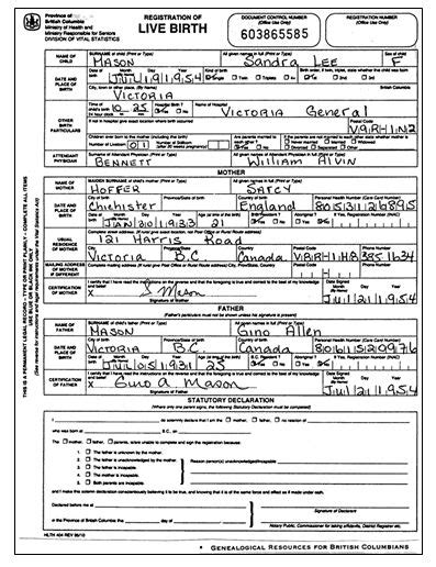 Alberta Canada Birth Records Uk Birth Certificate Search