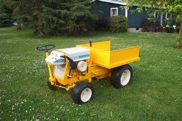 Antique Tractors Cub 104d Picture