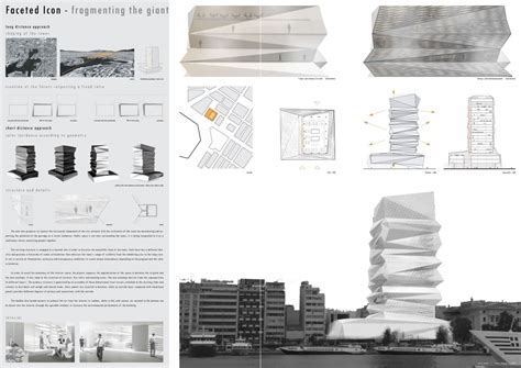 architectural layouts organicit 233 s piraeus tower