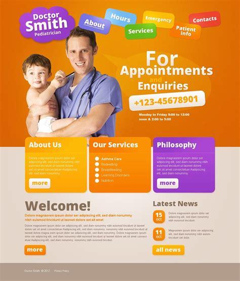 Pediatrician Website Template Pediatrician Website Template 37098