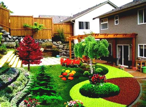 Beautiful Landscaping Design Ideas For Front Yard And Home Backyard Landscaping Ideas