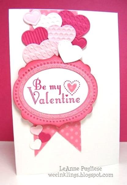 Valentines Cards Handmade - adorable valentines day handmade card ideas pink lover