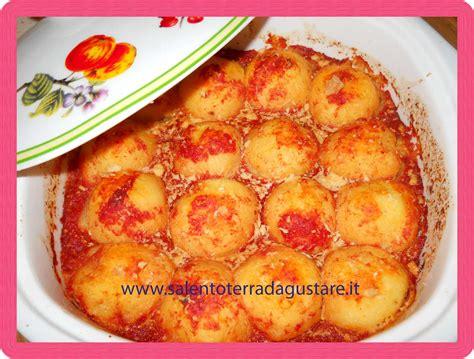 cucina patate cocule di patate salentine ricette panico d