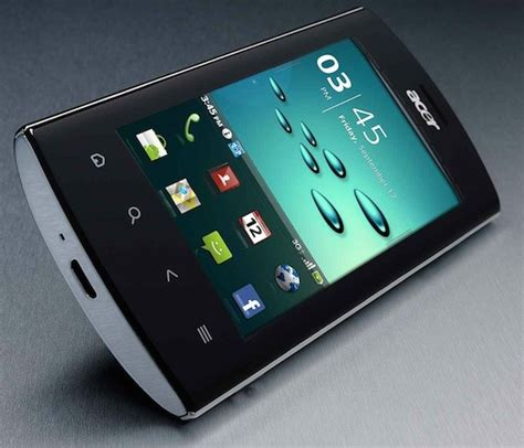 Hp Android Zu Metal acer liquid metal hp android froyo hsdpa plus wifi dan