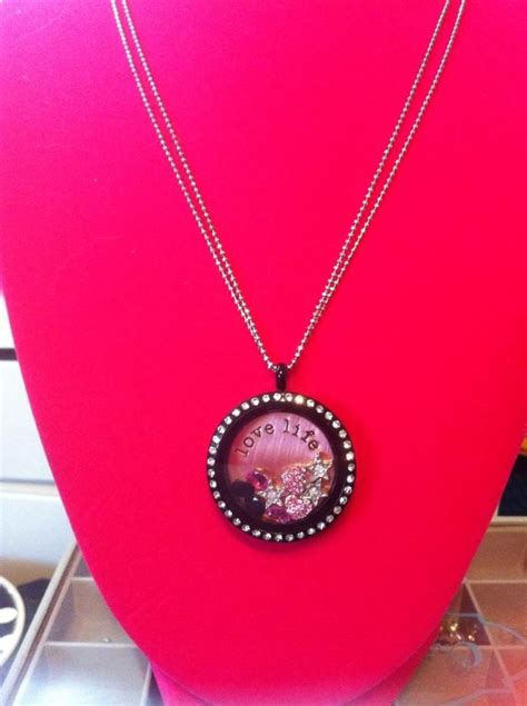Origami Owl Black Chain - 8 best s day 2014 images on living