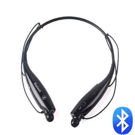 Headset Earphone universal neckband style bluetooth stereo headset earphone headphone with vibration hv 800 for
