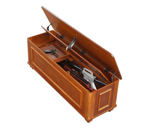 bench seat gun cabinet amazon com american furniture classics hope chest with