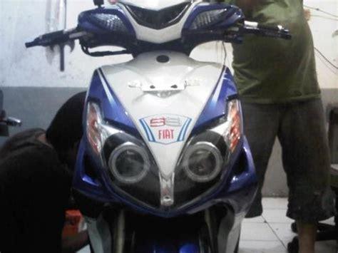 Lu Projector Yamaha Xeon drag race modifikasi yamaha xeon tahun 2010