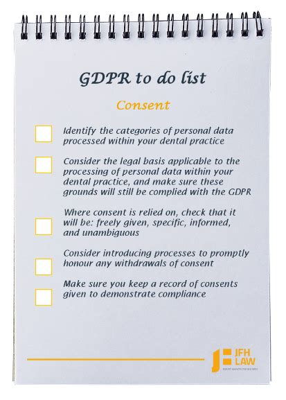 Is Your Dental Practice Ready For Gdpr Jfh Law Free Gdpr Consent Form Template