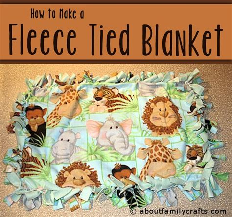 how to make a fleece rug fleece blanket tutorial treasure crafts and quilting