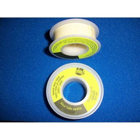 Teflon Hello ruban teflon 12 7x0 10x13 710 hd jaune gaz sd