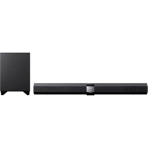 sony htct660h black sound bar home theater system with