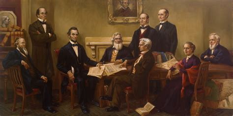 abraham lincoln cabinet portrait of the week correcting history