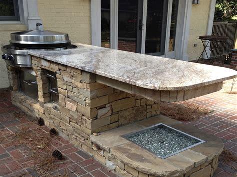 Outdoor Kitchen Countertops Outdoor Kitchen Paradise Granite