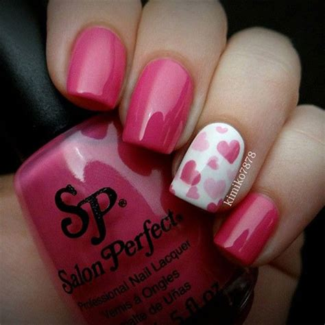 simple valentines day nails 15 easy s day nail designs ideas