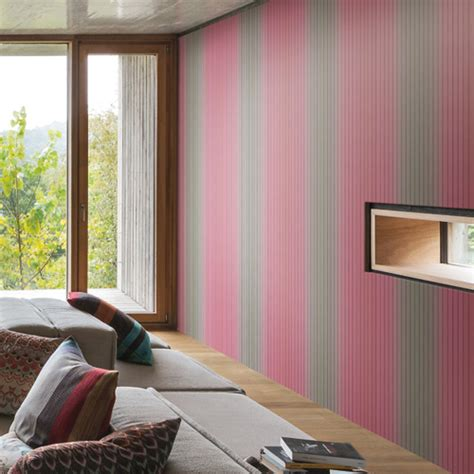 vertical stripe wallpaper from missoni home wallpaper book