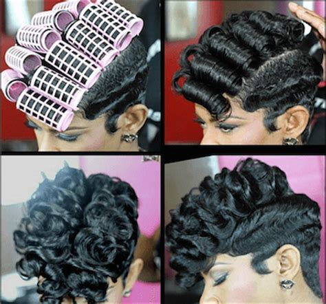 uneven bob roller set 15 of the best hair makeovers of all time voice of hair
