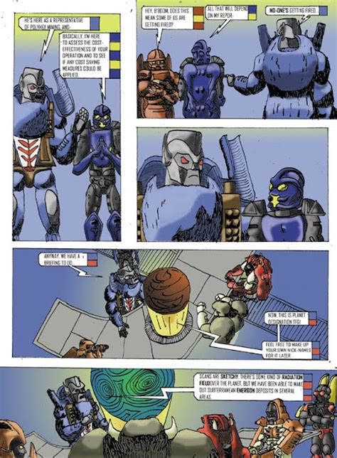 best wars comics mathurin beast wars comic pt 1