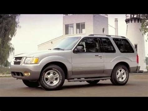 2003 ford explorer sport start up and review 4 0 l v6 youtube