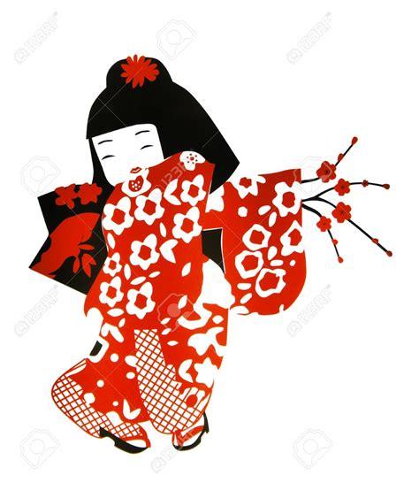 geisha clipart kimono clipart pencil and in color kimono