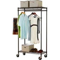 canopy heavy duty garment rack bronze walmart