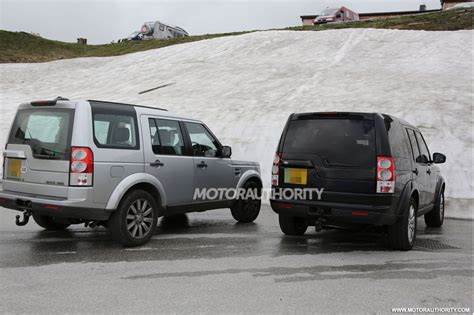 new land rover defender spy shots 2014 land rover lr4 spy shots