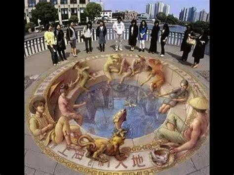 imagenes 3d en el suelo 3d street or sidewalk chalk art youtube