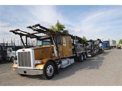 car carrier truck 2002 peterbilt car carrier trucks for sale used trucks on