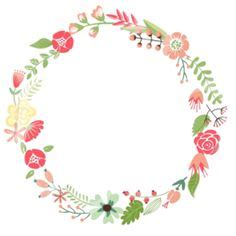 design lab create your own shirt floral frame cute retro flowers arranged un a shape of