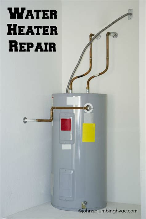 water heater repair johns plumbing hvac