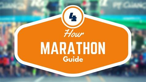 the 4 hour marathon the bulletproof guide to running a sub 4 hr marathon books how to run a marathon in 4 hours