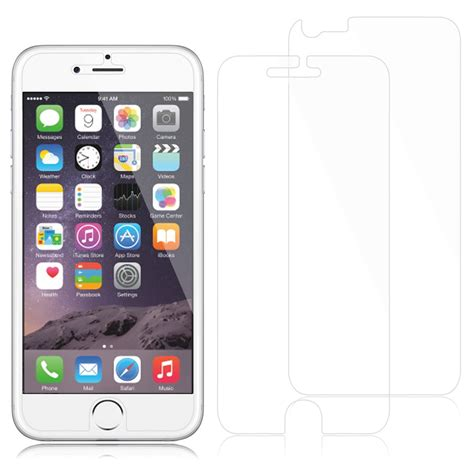 tempered glass clear matte mirror front screen protector for iphone 6s 4 7 quot ebay
