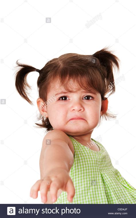 very young little girls cute baby toddler young little girl with very sad face