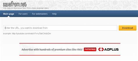 Download Youtube Selain Savefrom   daftar aplikasi situs download video youtube gratis