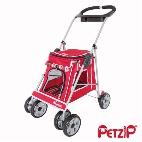 puppy strollers petzip elite buggy pet stroller