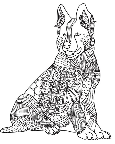 coloring pages for adults dogs 629 best images about adult colouring cats dogs