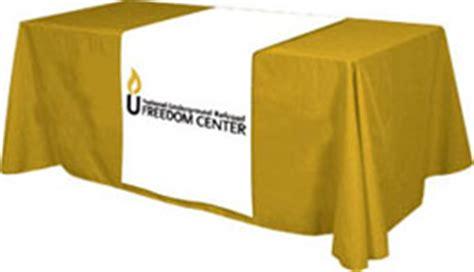 Table Banner by Custom Table Banners Custom Table Throws Custom Table