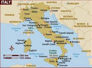 Sardinia Italy Map by Going To Italy