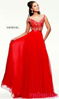 evening gown for prom sherri hill prom dress promgirl