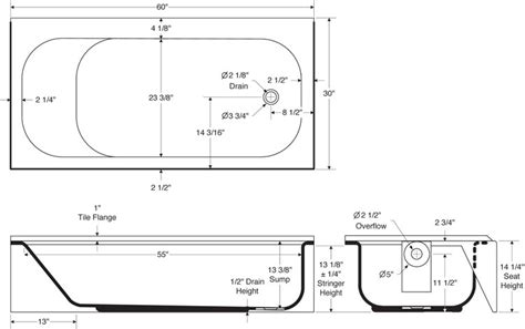 bathtub measurement standards standard bathtub dimensions pmcshop