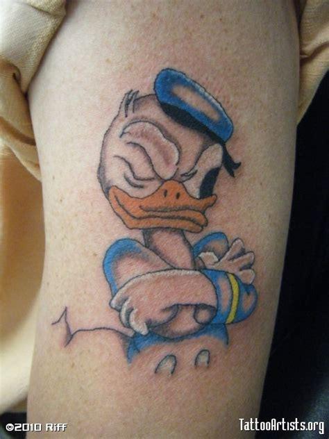 donald duck tattoo best 20 duck tattoos ideas on