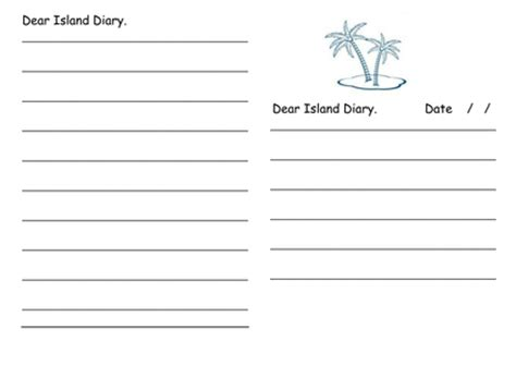 how to write a diary entry resources tes