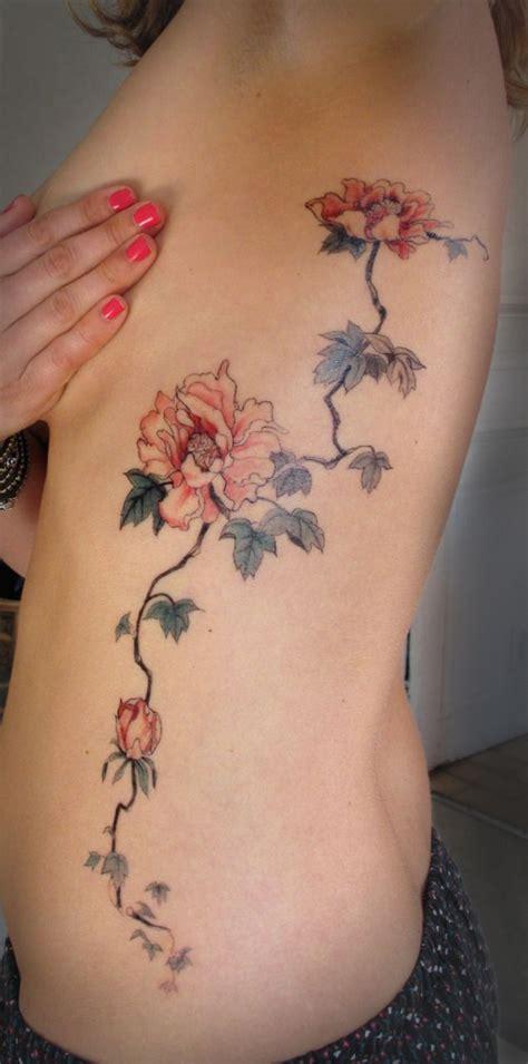 tattoo across ribs 1266 best torso midriff tattoo ideas images on pinterest