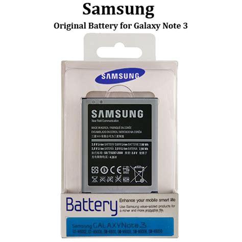 Battery Samsung Note 3 Original 100 original samsung battery for galaxy note 3 eb b800bebecinu